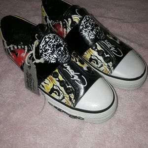 Ed Hardy Slip On Sneakers